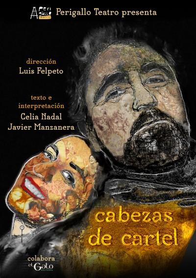 CABEZAS DE CARTEL de Perigallo teatro